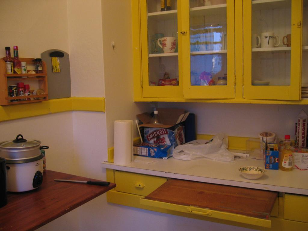 Our little kitchen.