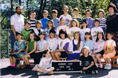 My grade 3 class photo