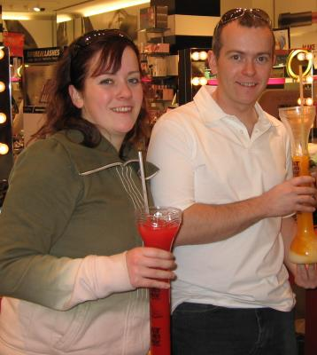 Huge Alcoholic Slushies!